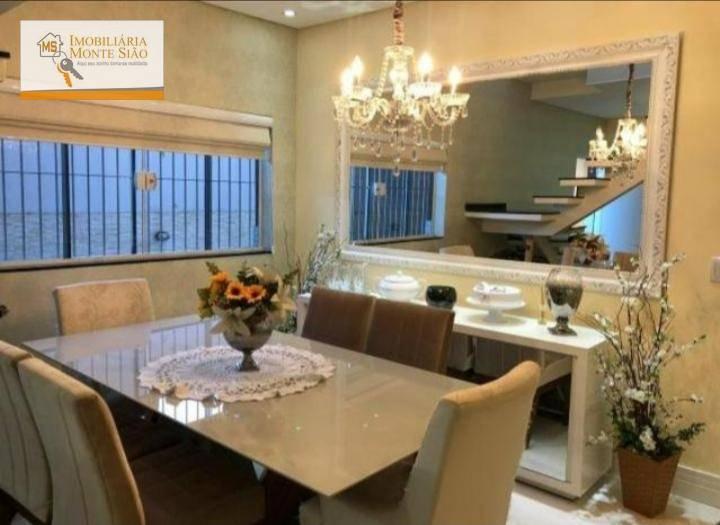 Sobrado com 3 dormitórios à venda, 148 m² por R$ 475.000,00 - Vila Carmela II - Guarulhos/SP