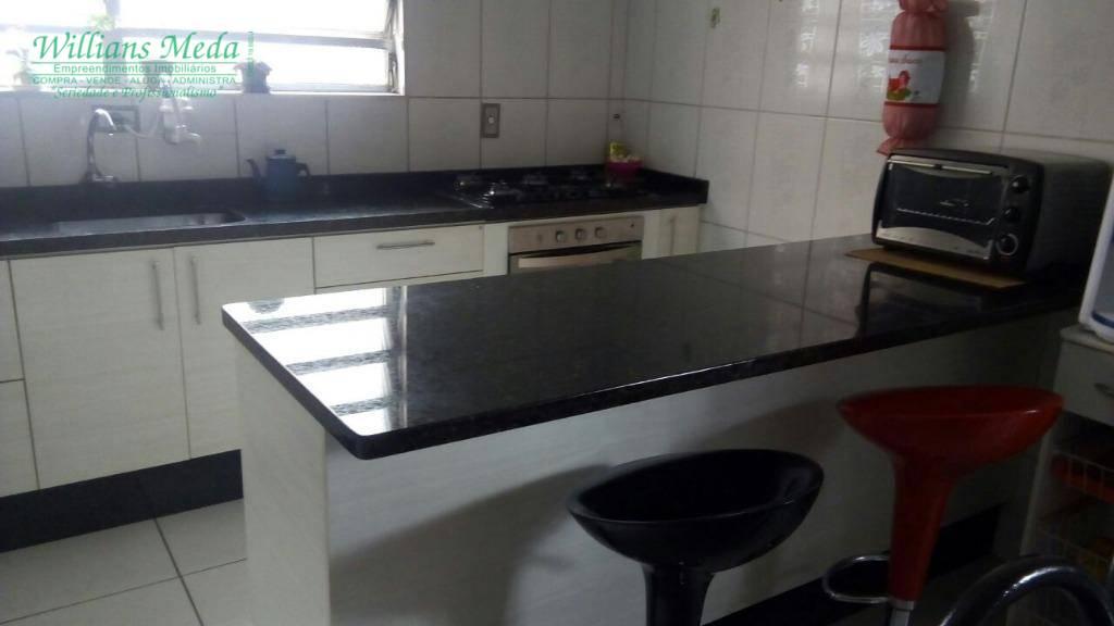 Sobrado com 2 dormitórios à venda, 160 m² por R$ 550.000 - Jardim Ipanema - Guarulhos/SP