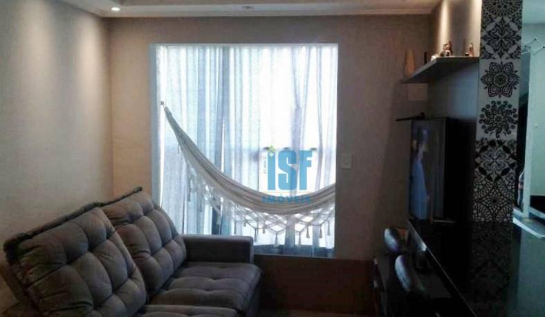 Apartamento com 3 dormitórios à venda, 65 m² por R$ 410.000 - Jardim Marilu - Carapicuíba/SP - AP24566.
