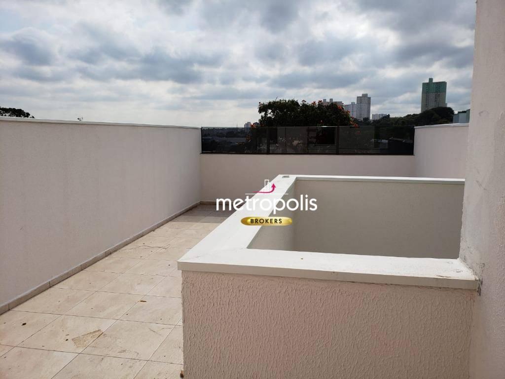 Cobertura à venda, 90 m² por R$ 372.000,00 - Vila Valparaíso - Santo André/SP