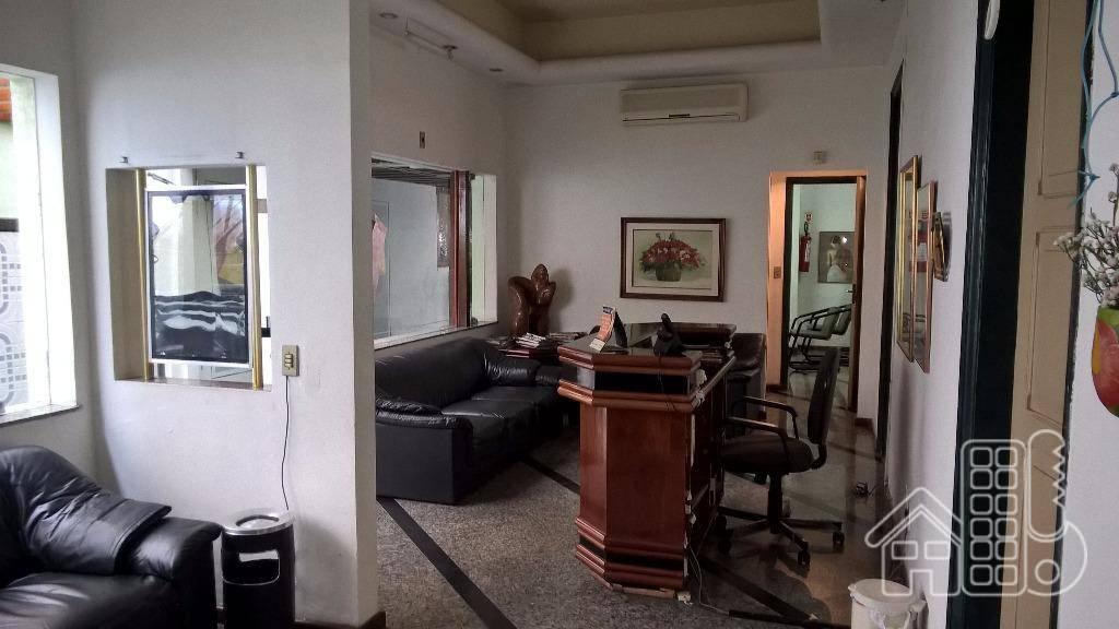 Clinica montada comercial na Rua Otavio Kelly para locação,  Icaraí, Niterói - PT0002.