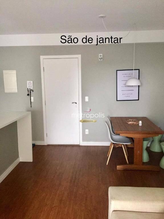 Apartamento com 2 dormitórios à venda, 65 m² por R$ 480.000 - Santa Paula - São Caetano do Sul/SP