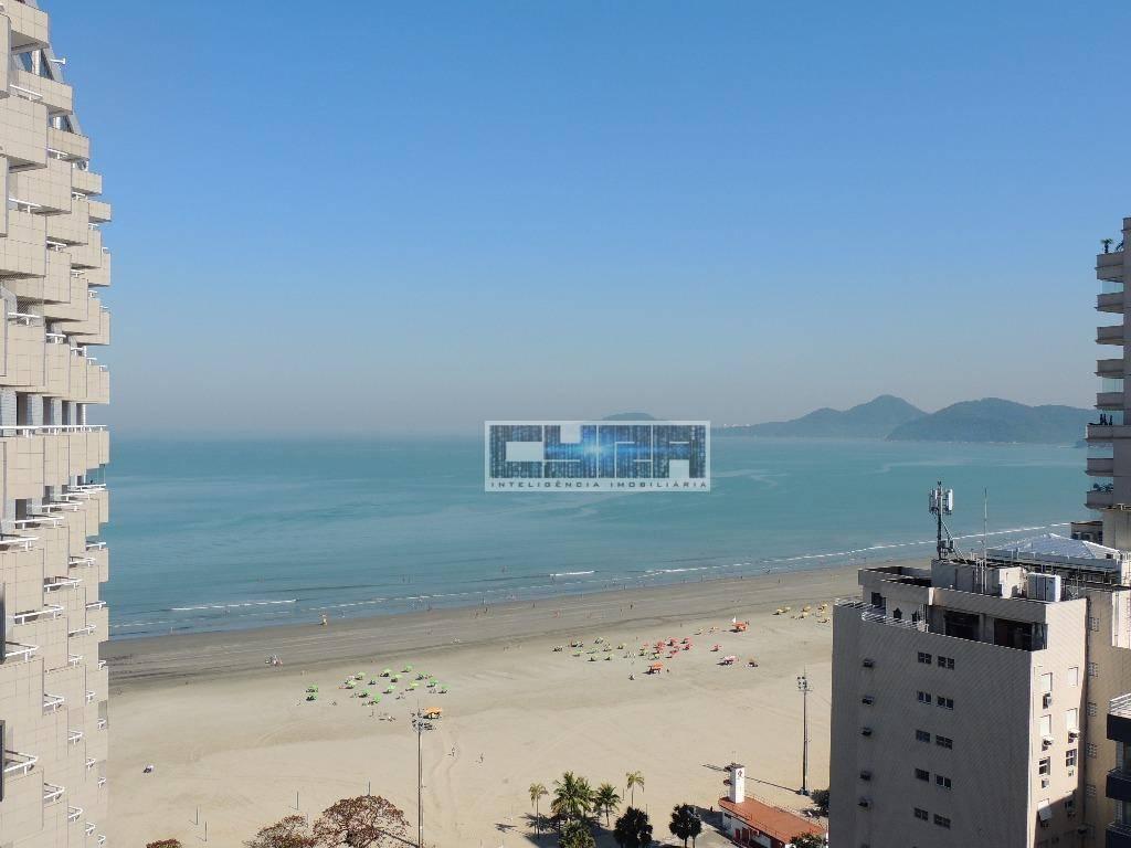 Sala Comercial Mobiliada à Beira Mar em Santos
