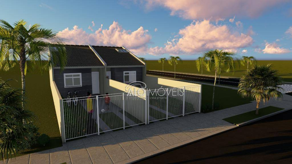 Casa com 2 dormitórios à venda, 38 m² por R$ 155.000 - Ganchinho - Curitiba/PR