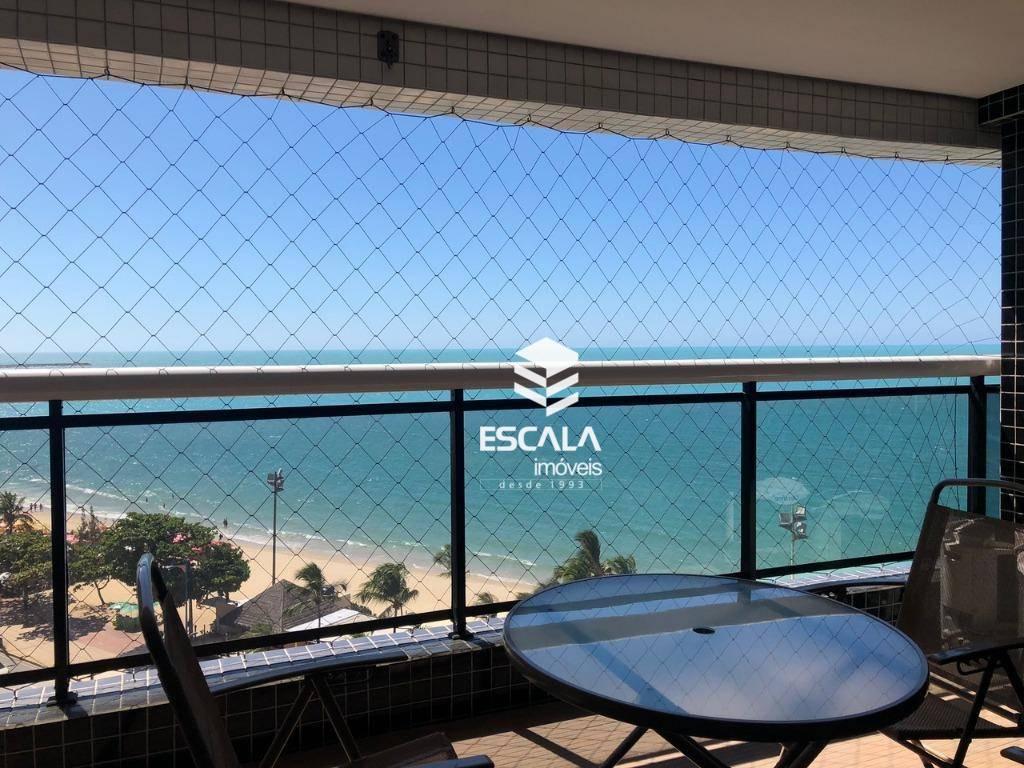 Apartamento com 2 dormitórios para alugar, 66 m² por R$ 300,00/dia - Meireles - Fortaleza/CE
