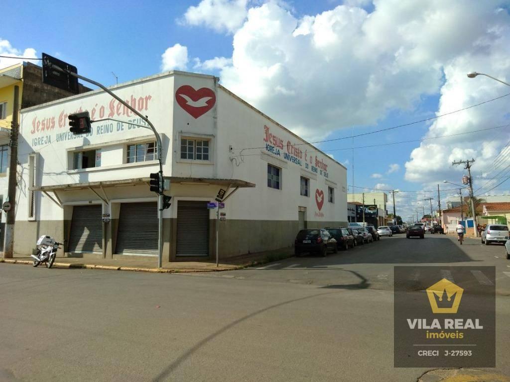 Galpão comercial para locação, Centro, Artur Nogueira - GA0003.