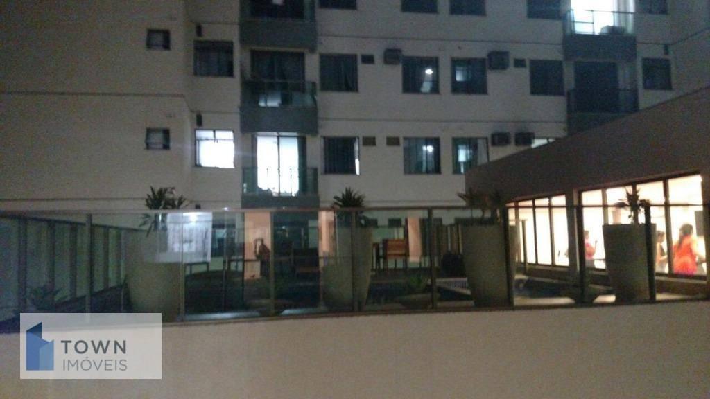 Apartamento com 2 dormitórios para alugar, 58 m² por R$ 1.100/mês - Pendotiba - Niterói/RJ
