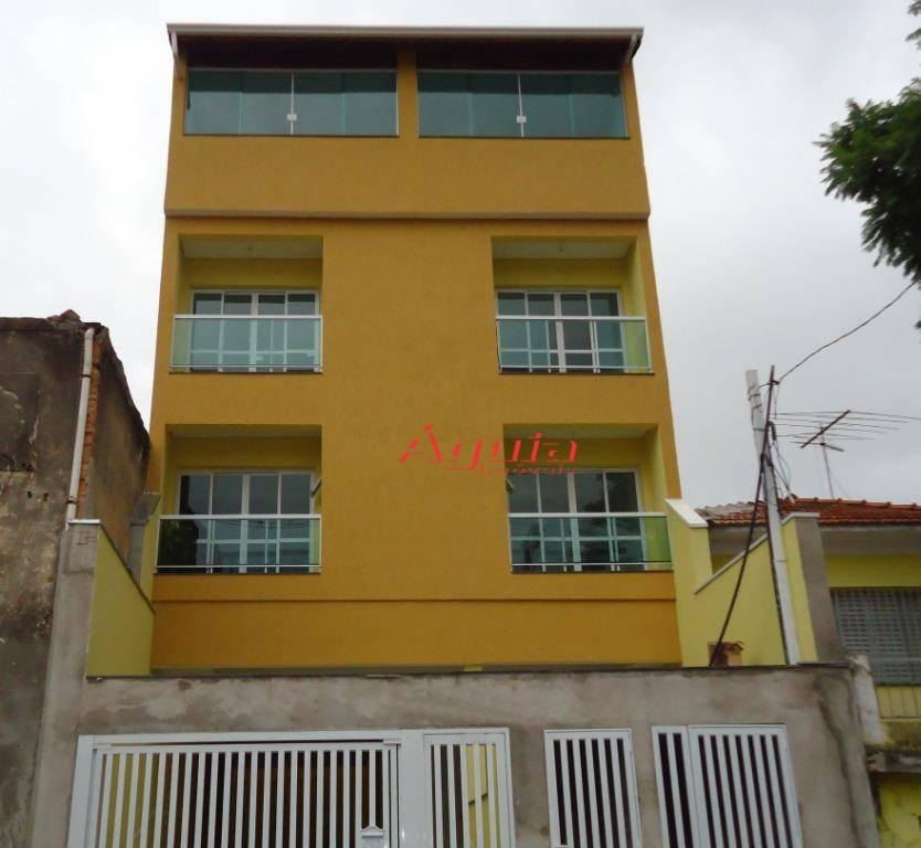 Cobertura com 2 dormitórios à venda, 70 m² por R$ 370.000 - Vila Lucinda - Santo André/SP