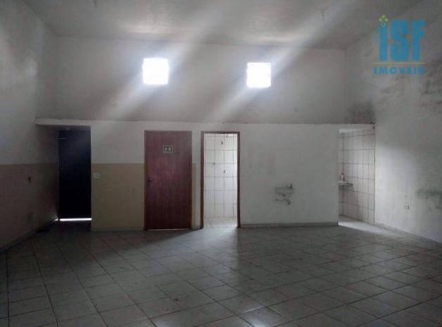 Salão 190m² para locação, Bussocaba, Osasco - GA0233.
