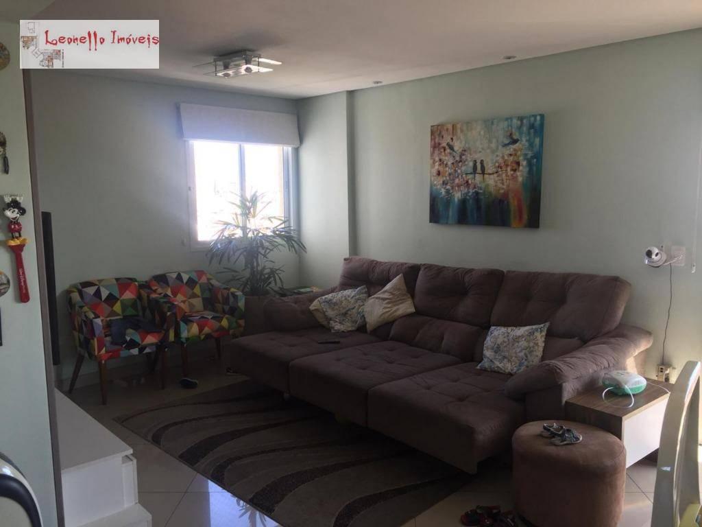 Apartamento com 3 dormitórios à venda, 98 m² por R$ 550.000 - Campestre - Santo André/SP