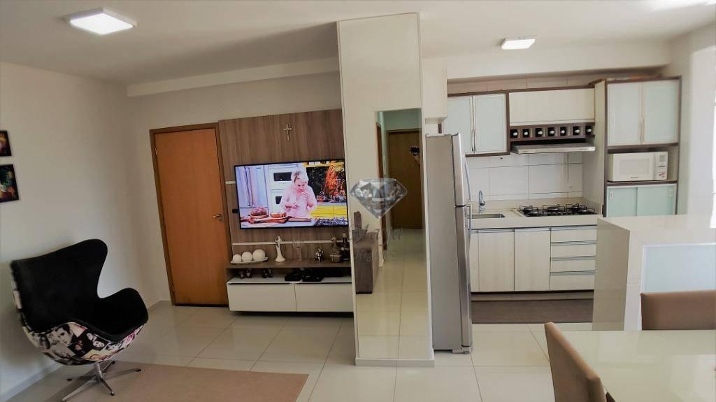 Apartamento 3 Quartos, 78 m² c/ armários na 706 Sul - Cidade Jardim