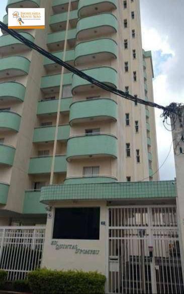 Apartamento com 3 dormitórios à venda, 92 m² - Vila Augusta - Guarulhos/SP