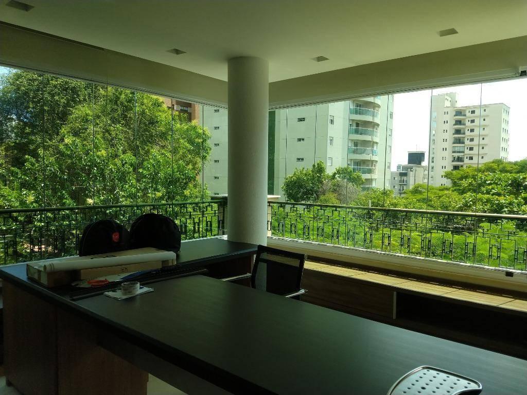Apartamento alto padrão mobiliado com 3 suítes, varanda gourmet e 4 vagas para venda ou locação! 248 m² - Jardim - Santo André/SP