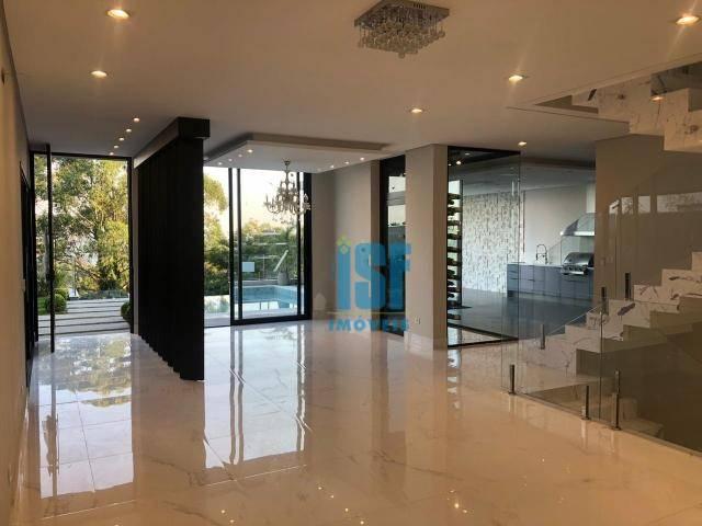 Casa com 4 dormitórios à venda, 530 m² por R$ 4.500.000 - Tamboré - Santana de Parnaíba/SP - CA1634.