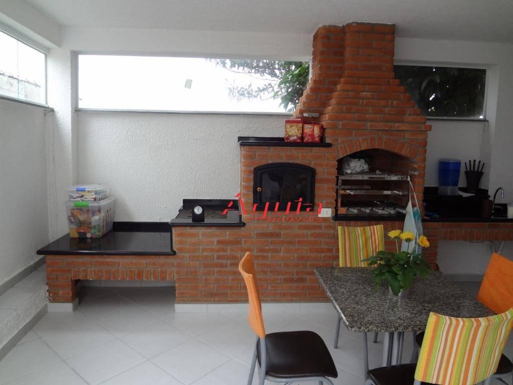 Sobrado com 3 dormitórios à venda, 340 m² por R$ 799.000 - Vila Camilópolis - Santo André/SP