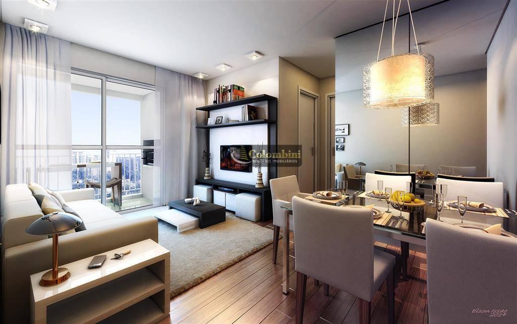 Apartamento com 2 dormitórios para alugar, 66 m² - Santa Maria - São Caetano do Sul/SP