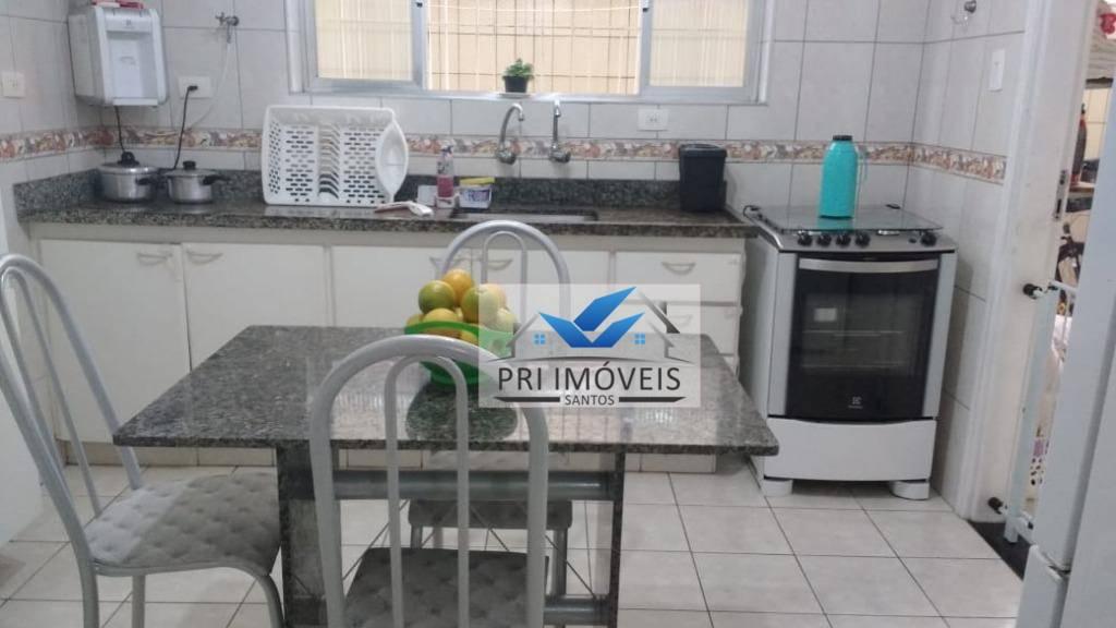 Sobrado à venda, 75 m² por R$ 350.000,00 - Aparecida - Santos/SP