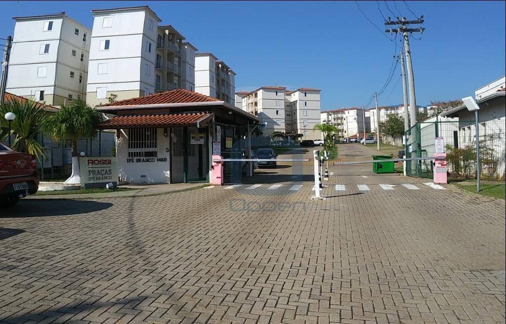 Excelente Apartamento com 2 dormitórios para alugar, 52 m² por R$ 1.000/mês - Parque Euclides Miranda - Sumaré/SP