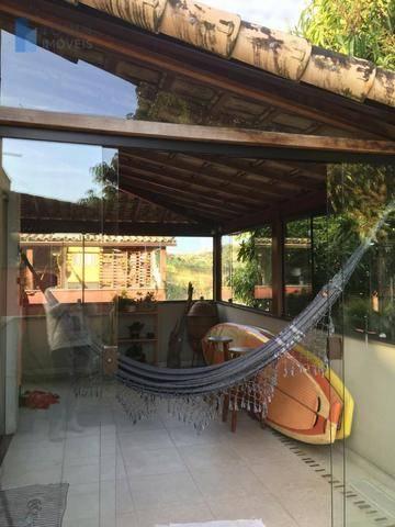 Cobertura com 2 dormitórios à venda, 76 m² por R$ 245.000,00 - Maria Paula - São Gonçalo/RJ