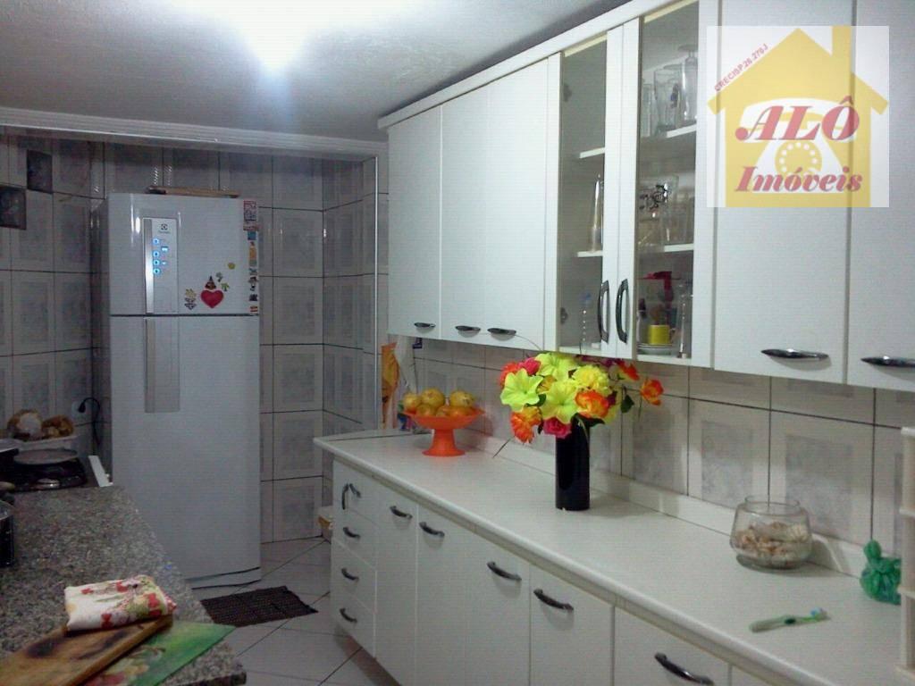 Casa residencial à venda, Vila Camilópolis, Santo André.
