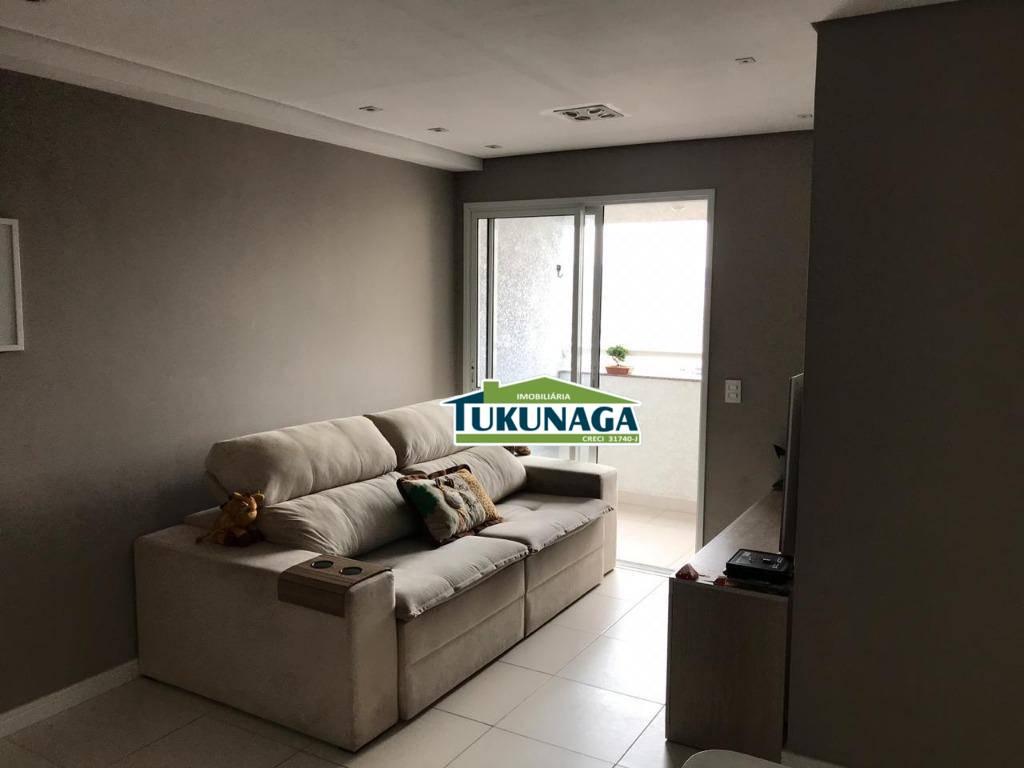 Apartamento para alugar, 60 m² por R$ 1.200,00/mês - Jardim Imperador - Guarulhos/SP