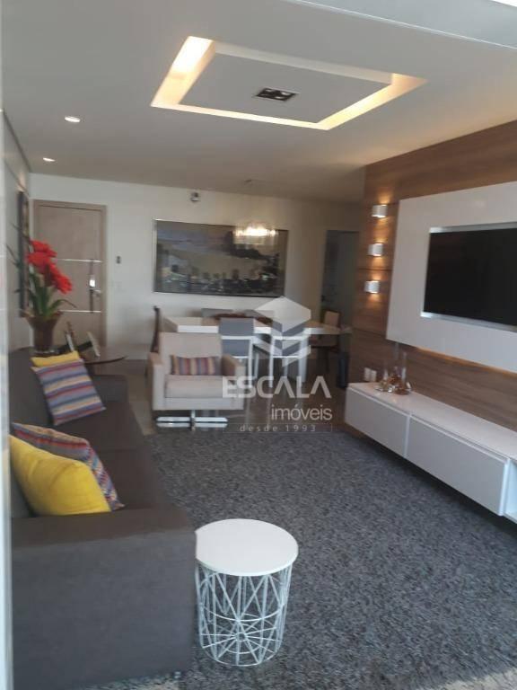 Apartamento com 3 quartos à venda, 133 m²,Móveis projetados, financia - Aldeota - Fortaleza/CE
