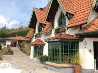 Casa residencial à venda, Abernéssia, Campos do Jordão.