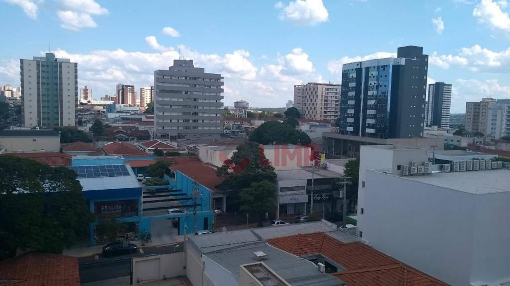 Apartamento com 1 dormitório para alugar, 32 m² por R$ 700/mês - Vila Santa Tereza - Bauru/SP