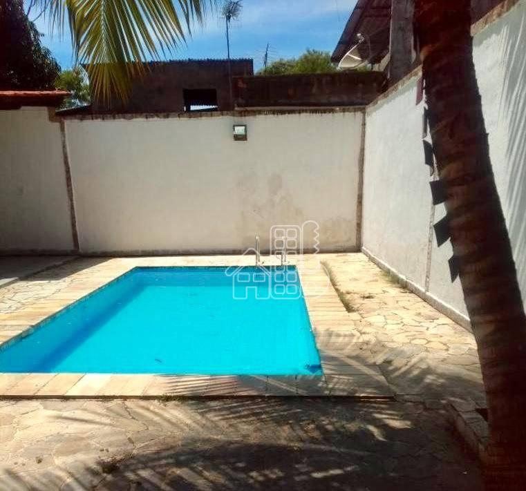 Casa com 4 dormitórios à venda, 120 m² por R$ 490.000,00 - Lindo Parque - São Gonçalo/RJ