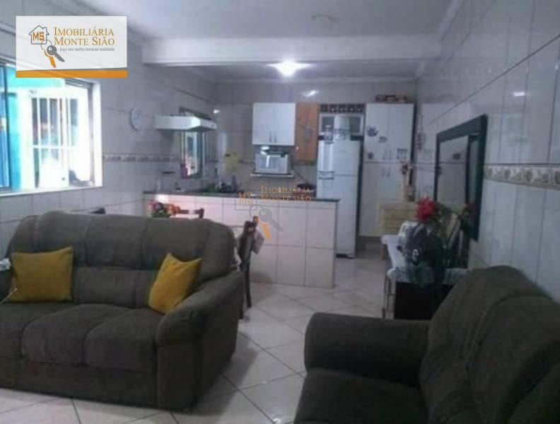 Sobrado Residencial à venda, Parque Continental, Guarulhos - .
