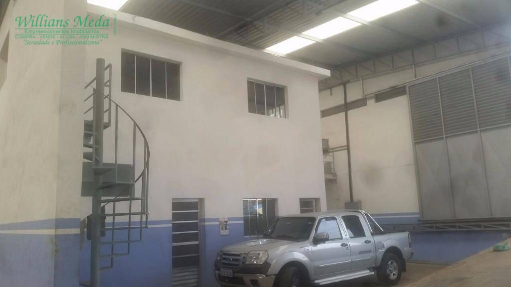 Galpão industrial para locação, Jardim Bonsucesso, Guarulhos