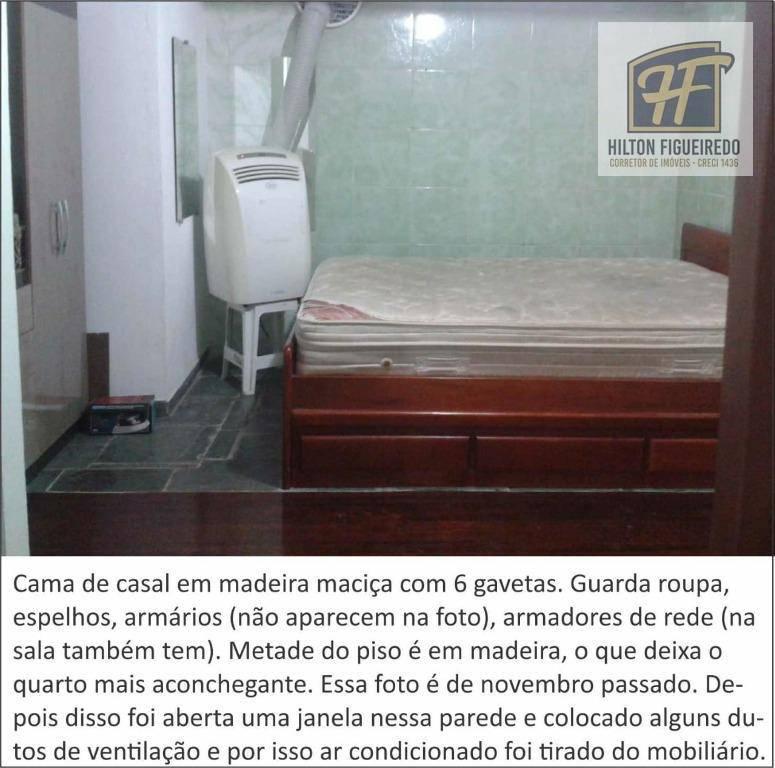 Kitnet com 1 dormitório para alugar por R$ 790/ano - Castelo Branco - João Pessoa/PB