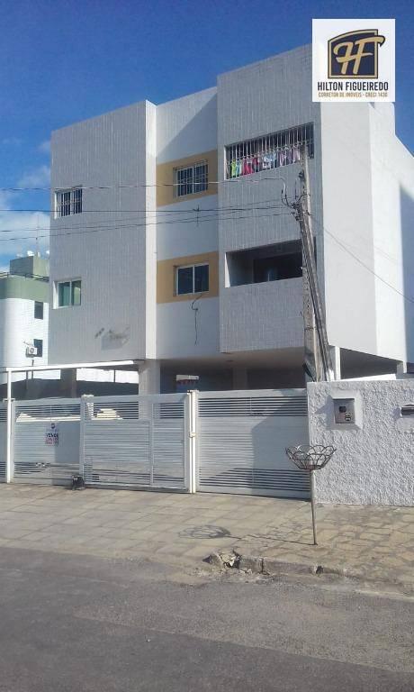Apartamento com 2 dormitórios à venda por R$ 140.000 - Quadramares - João Pessoa/PB