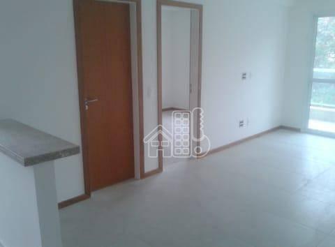 Apartamento com 1 dormitório à venda, 60 m² por R$ 380.000 - Piratininga - Niterói/RJ