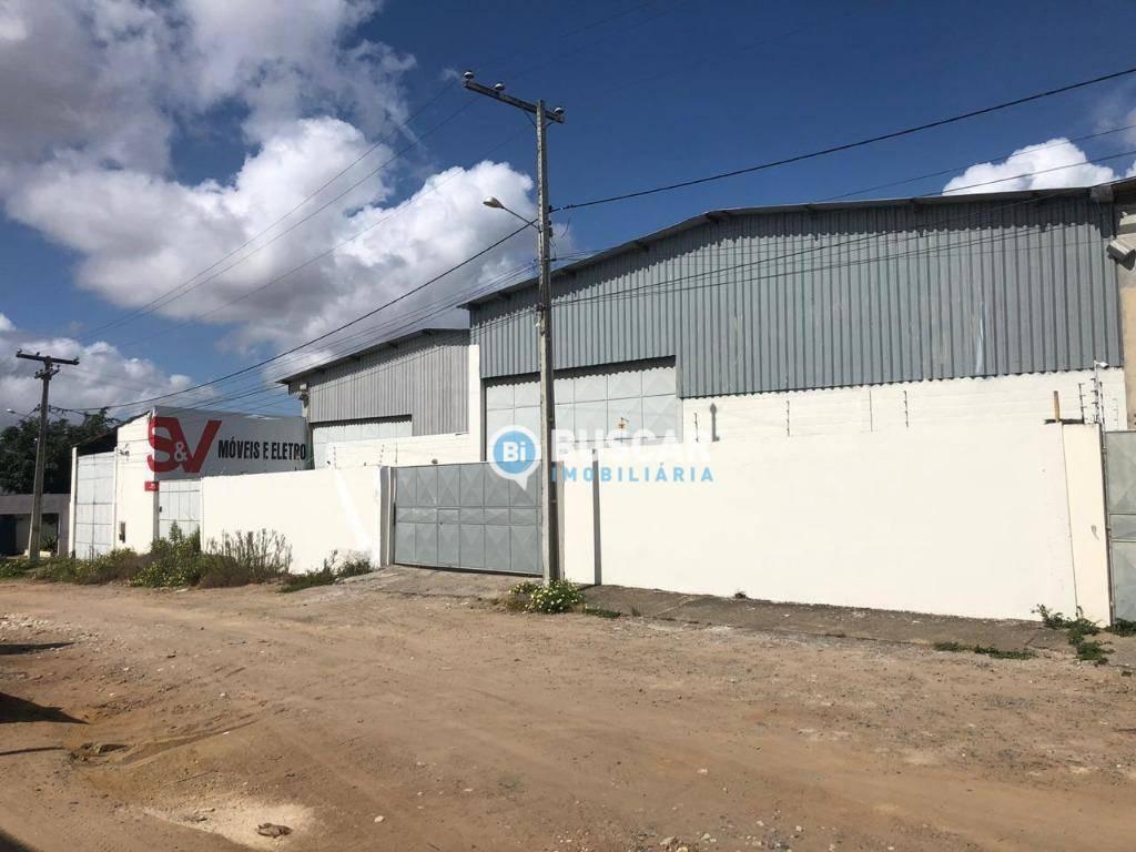 Galpão para alugar, 900 m² por R$ 8.000/mês - Baraúnas - Feira de Santana/BA
