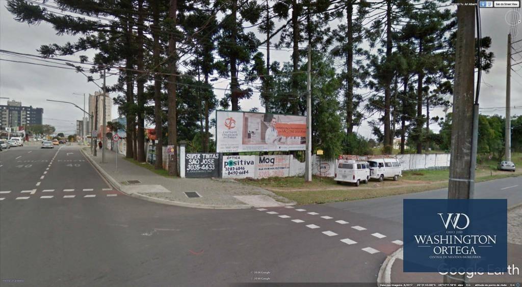 Área comercial à venda São José dos Pinhais.