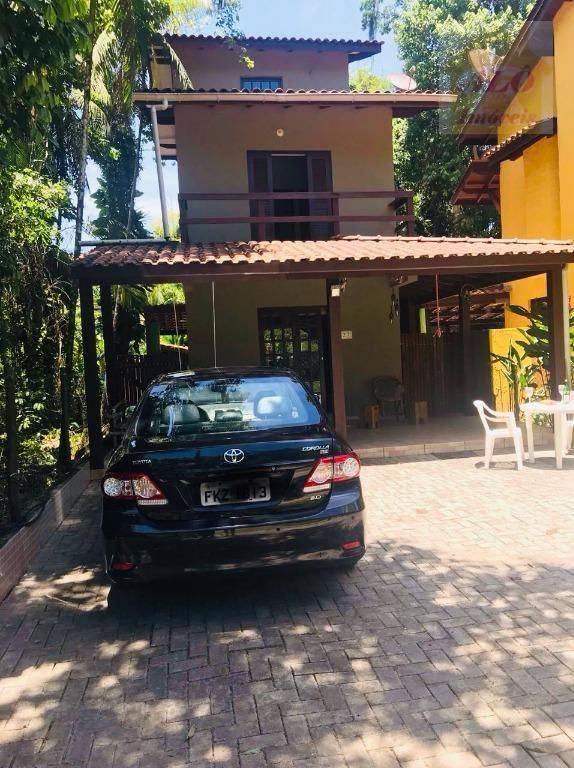 Sobrado residencial à venda, S Camburi, São Sebastião.