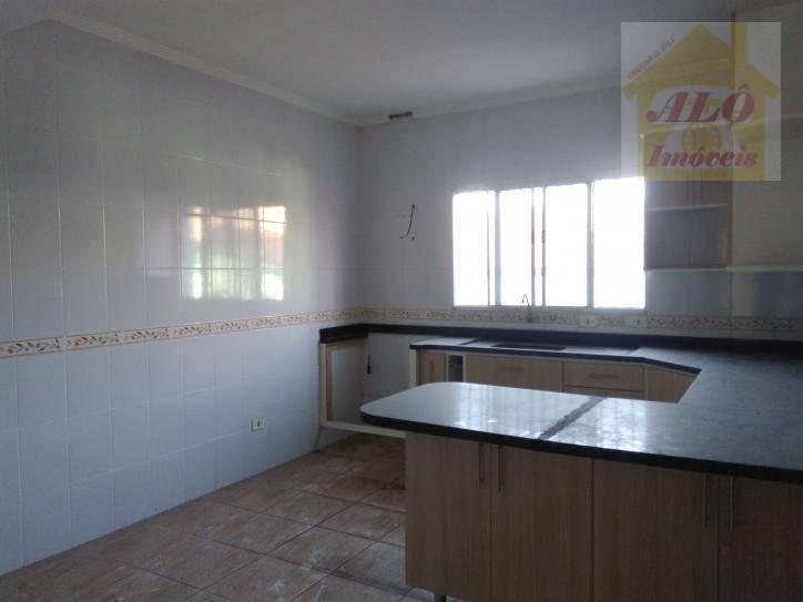 Sobrado à venda por R$ 320.000 - Vila Caiçara - Praia Grande/SP