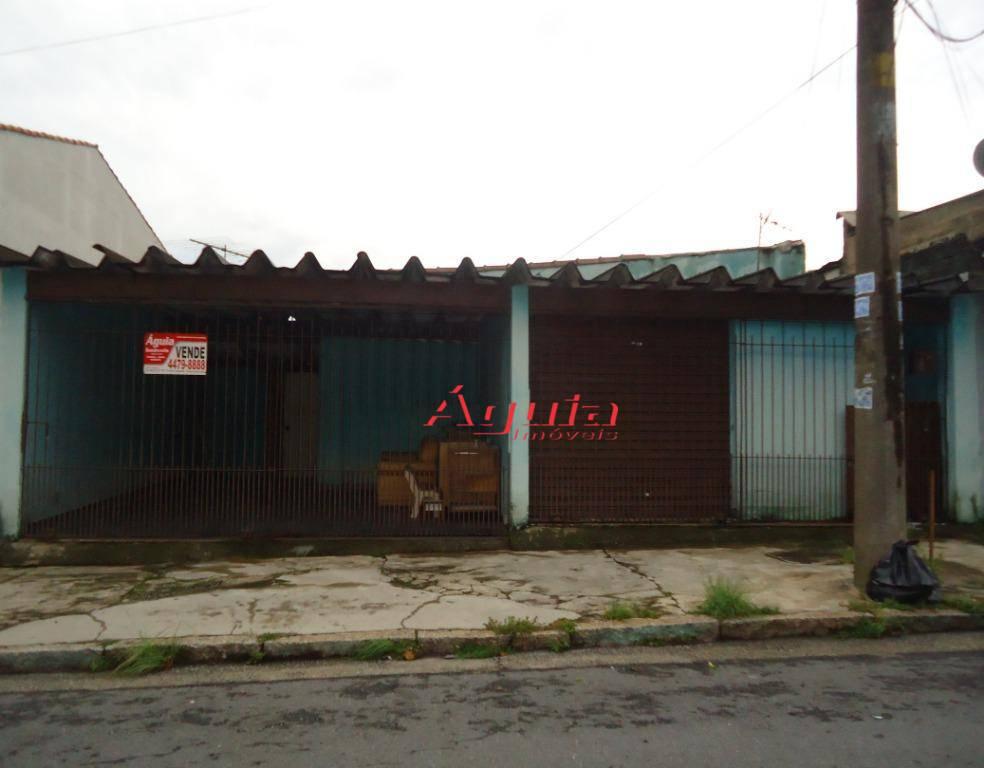 Terreno à venda, 250 m² por R$ 400.000 - Parque Capuava - Santo André/SP