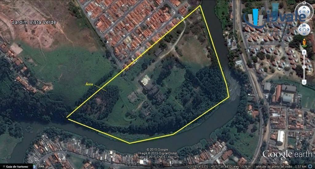 Área à venda em Cidade Jardim, Jacareí - SP