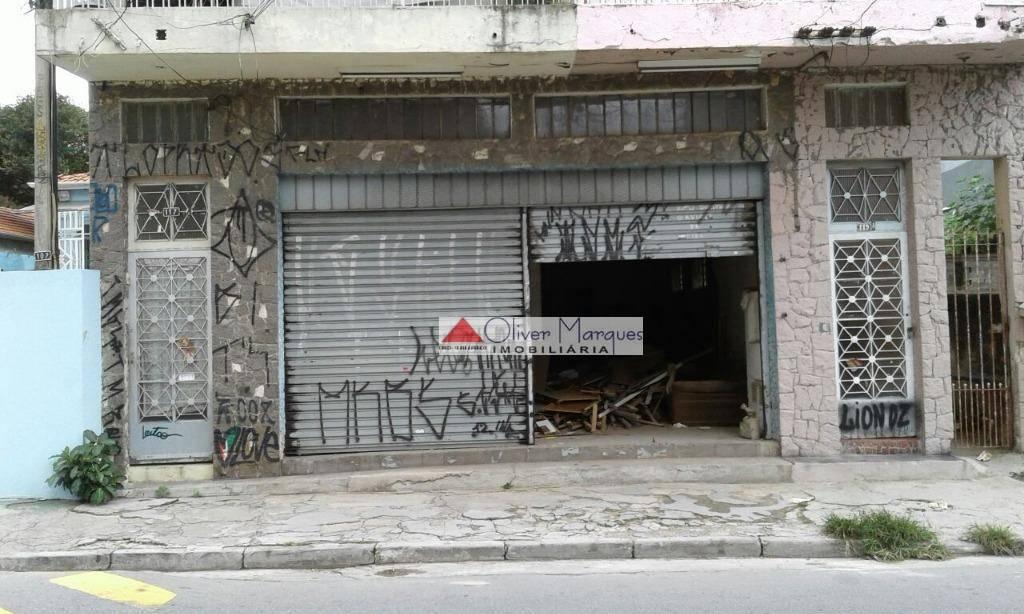 Salão comercial para locação, Vila Yara, Osasco - SL0076.