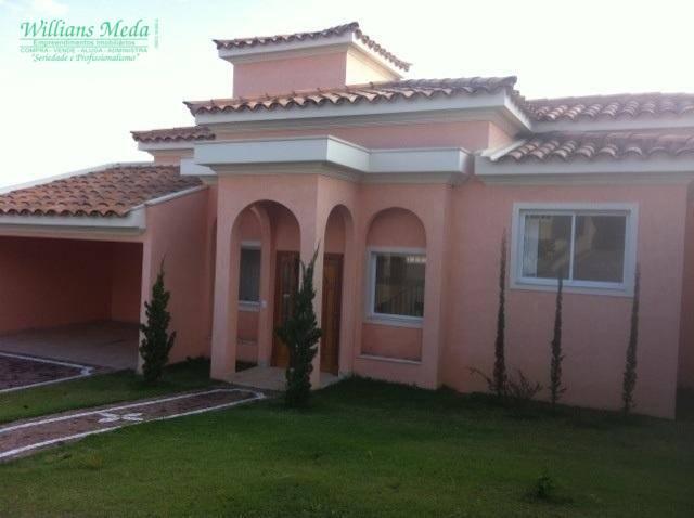 Sobrado residencial para venda e locação, Condomínio Recanto dos Paturis, Vinhedo.