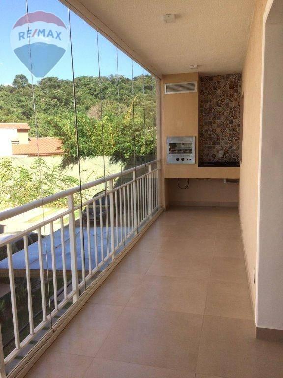 Apartamento com 3 dormitórios para alugar, 82 m² por R$ 2.125/mês - Jardim Floresta - Atibaia/SP