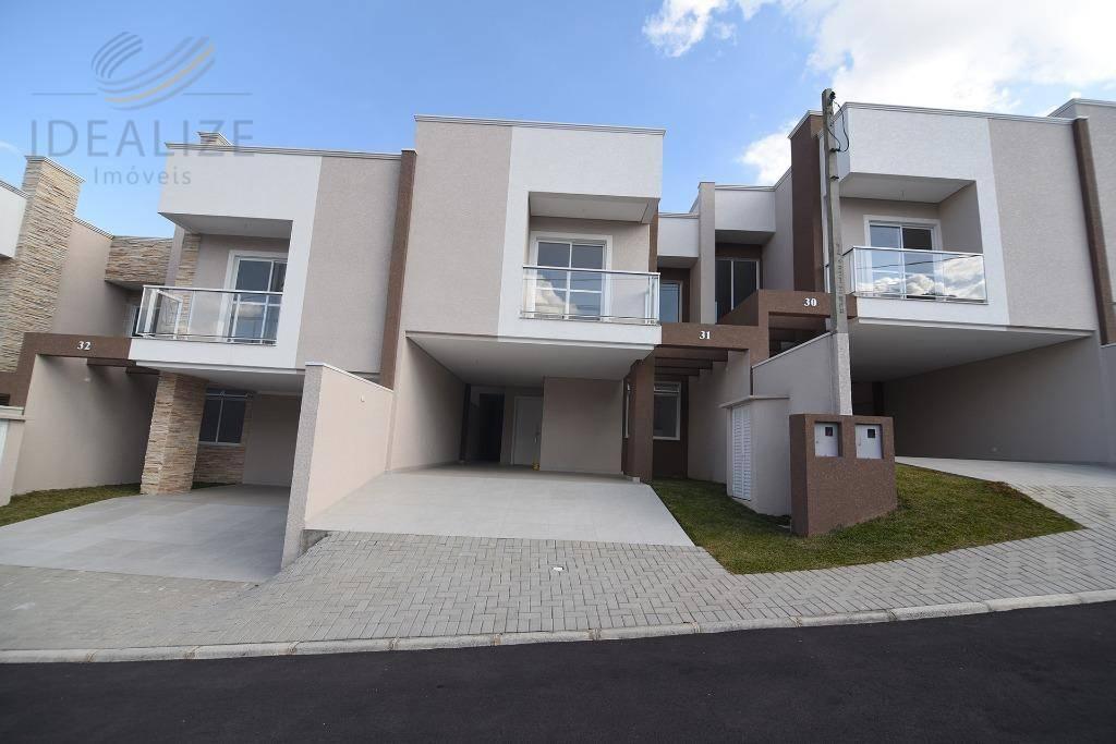 Sobrado residencial à venda, Bom Jesus, São José dos Pinhais