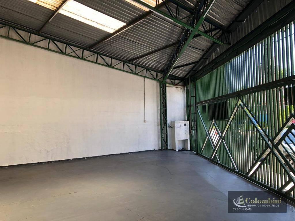 Galpão para alugar, 200 m² por R$ 9.000/mês - Santa Paula - São Caetano do Sul/SP