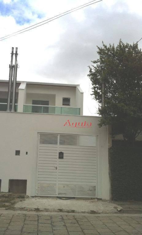 Sobrado residencial à venda, Santa Teresinha, Santo André.
