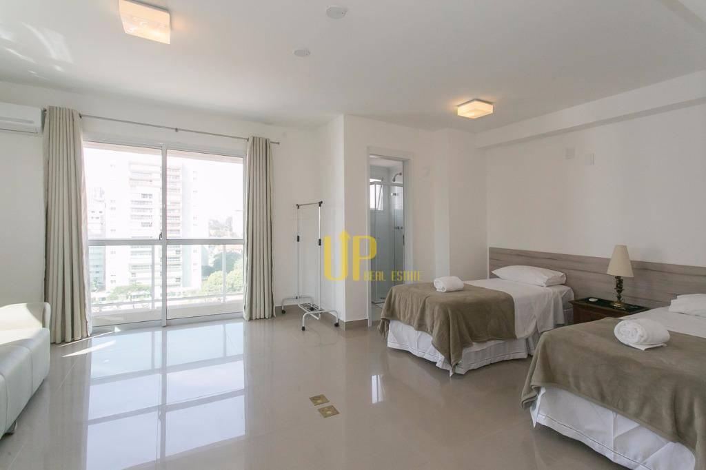 Studio residencial para venda e locação, Brooklin, São Paulo