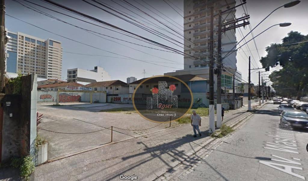 Terreno à venda, 810 m² por R$ 3.190.000,00 - Gonzaga - Santos/SP