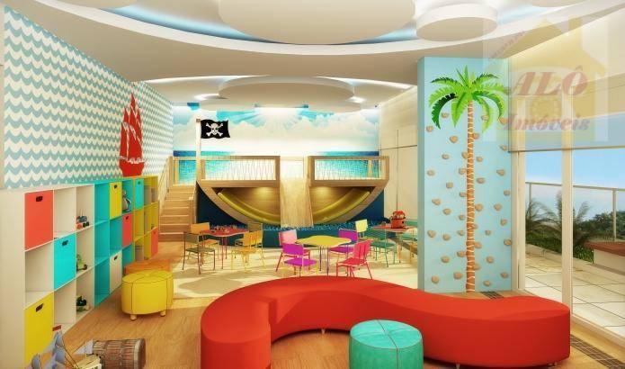 Apartamento com 3 dormitórios à venda, 92 m² por R$ 566.080 - Praia Do Sonho - Itanhaém/SP