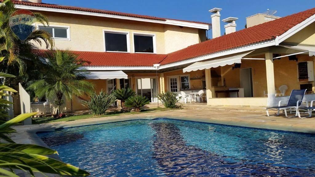 Casa residencial à venda, Condomínio Shambala I, Atibaia.